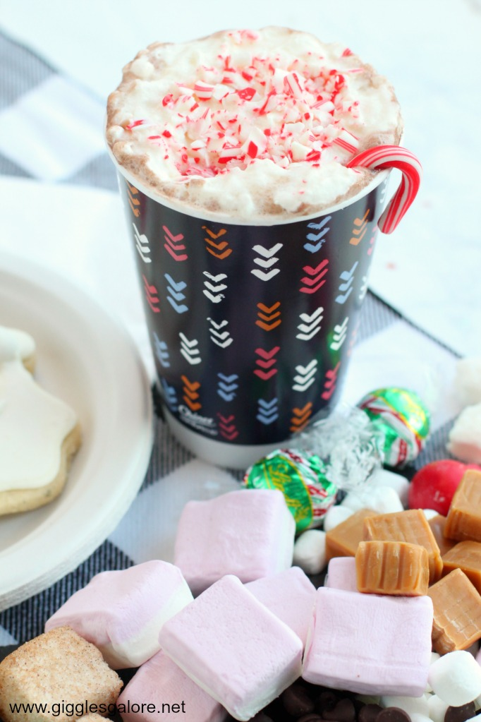 Hot cocoa chinet insulated cup