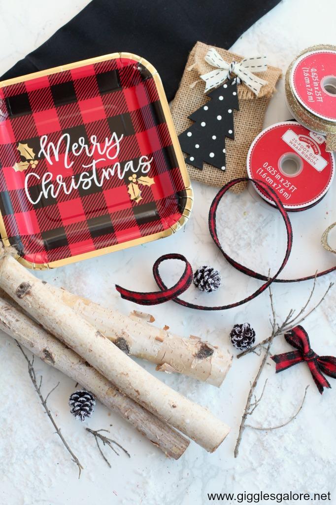 Wooden reindeer supplies