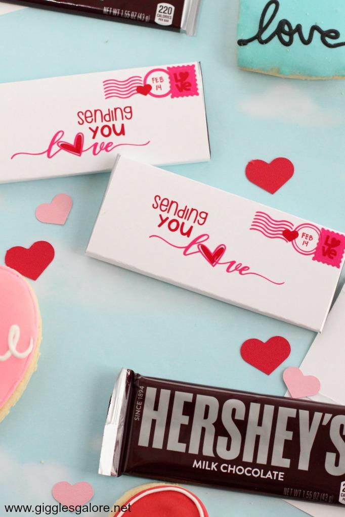Diy valentine candy bar wrapper cricut