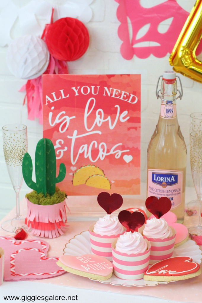 All you need is love tacos printable sign