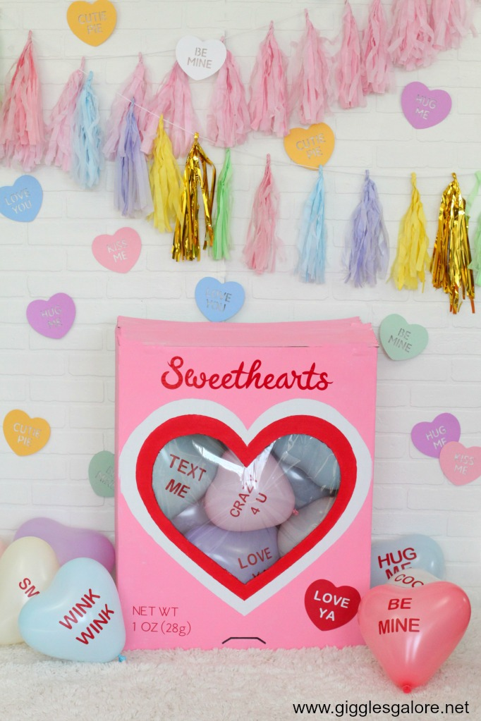 Diy cricut made sweethearts candy box
