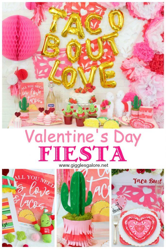 Valentines day fiesta party ideas