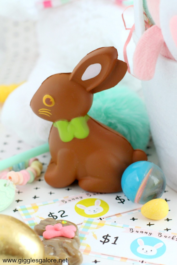 Chocolate bunny squishy