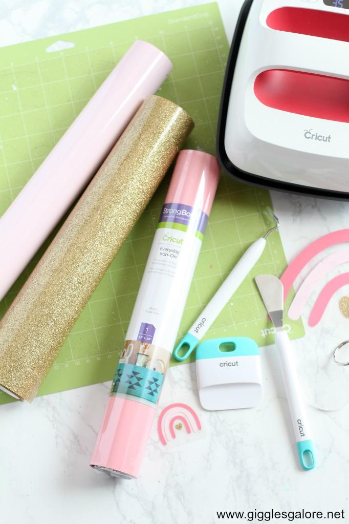 Cricut backpack supplies