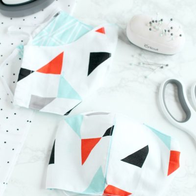 How to Make Cloth Masks with Cricut