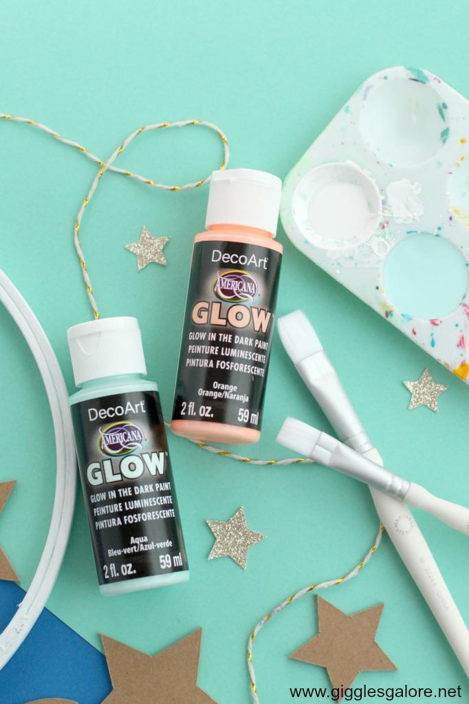 Decoart glow paint