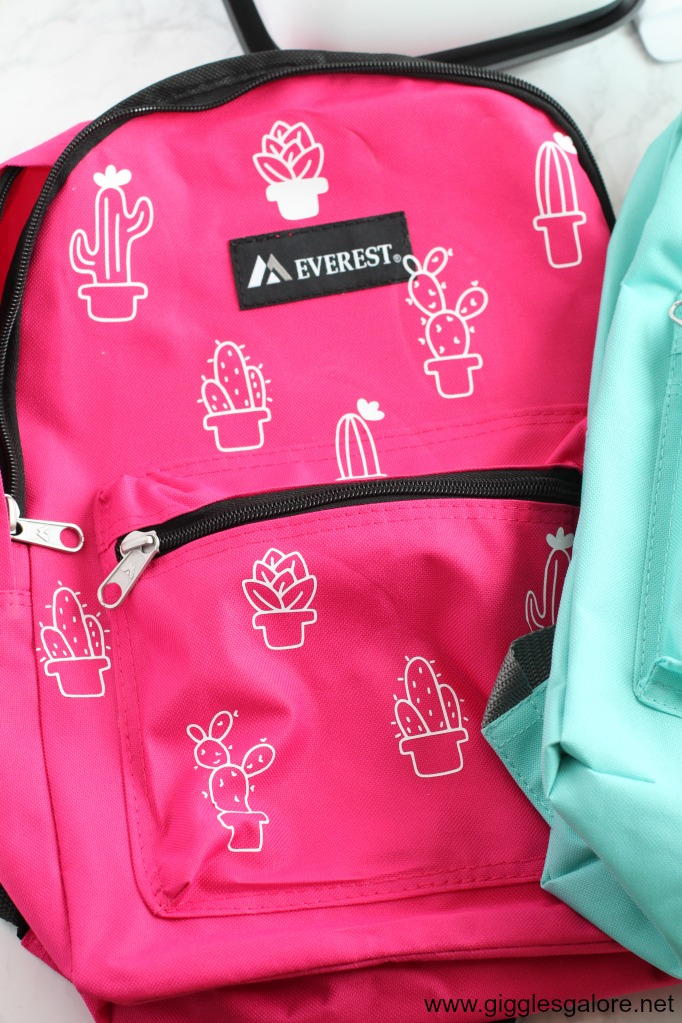 Diy cactus backpack