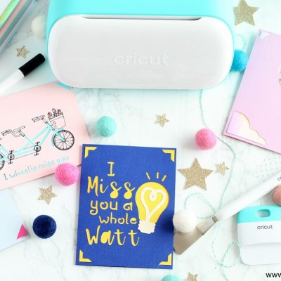 How to Make Cards with Cricut Joy