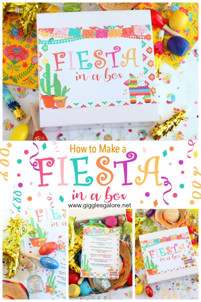 Fiesta in a box pinterest