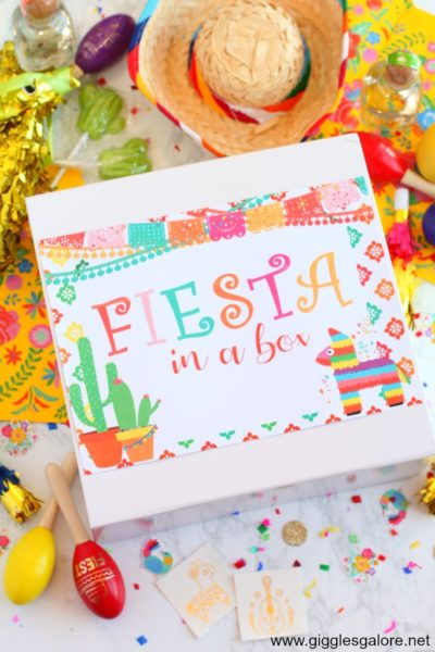 Fiesta in a box survival kit