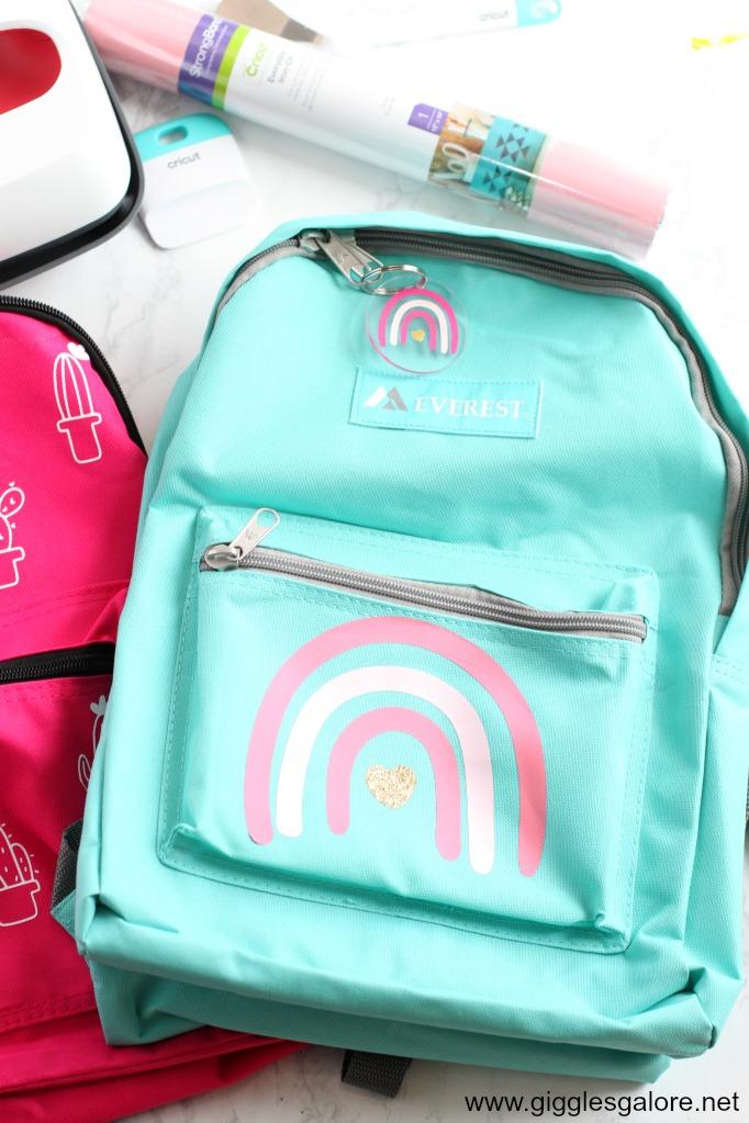 Pretty rainbow backpack