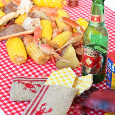 Easy Entertaining with Summer Seafood Boil Party