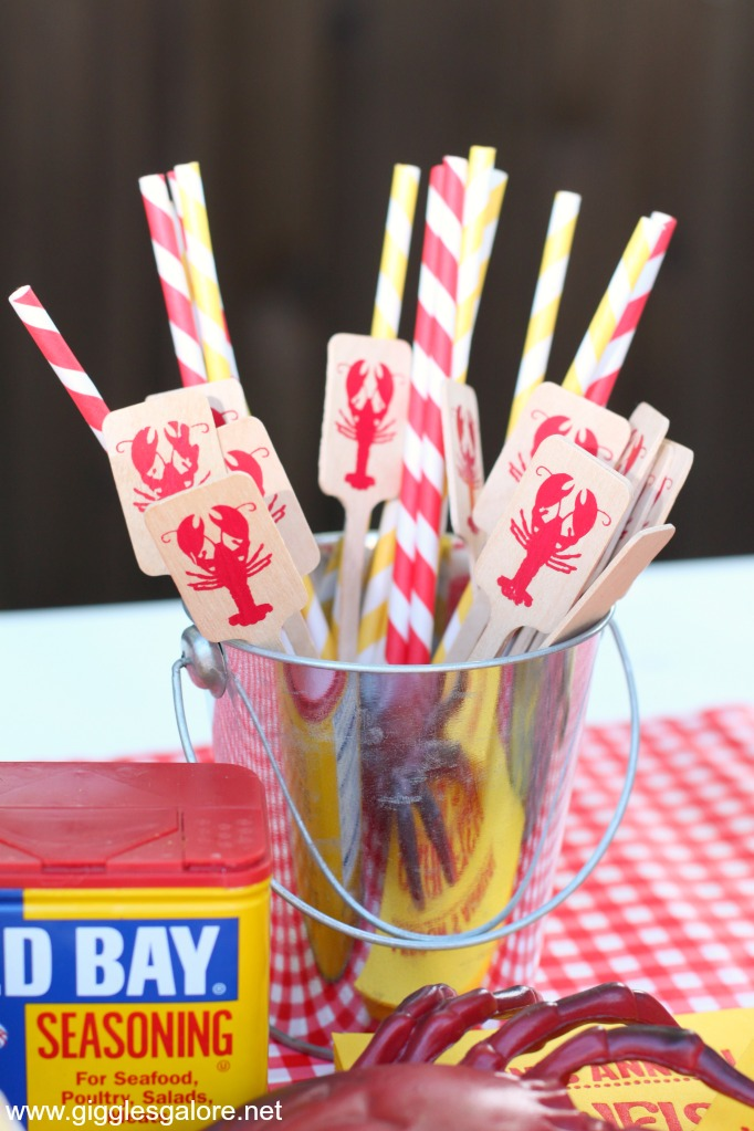 Crawfish boil stir sticks