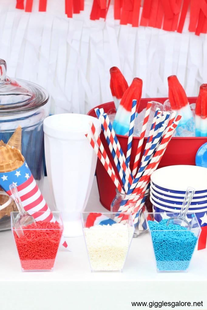 Patriotic sprinkles