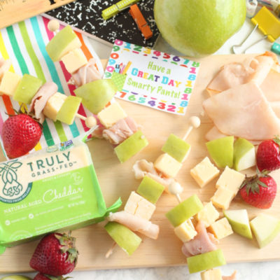 Healthy After School Snack Skewers