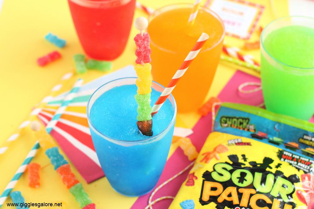 Homemade sour patch kids slush gg