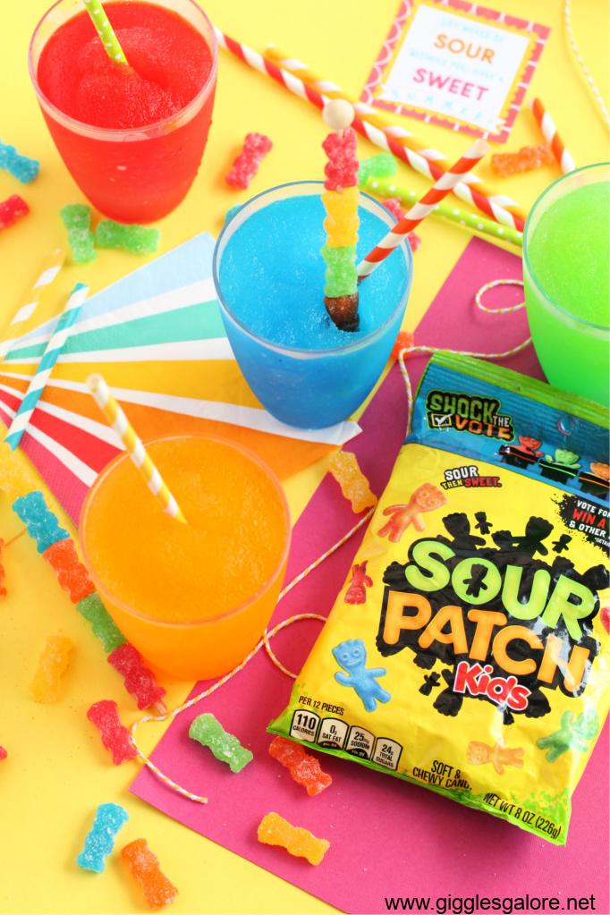 Rock the vote sour patch slush