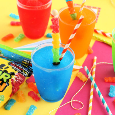 Easy Homemade Summer Slushies + Free Printable Tags