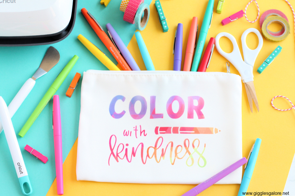 Color with kindness markers