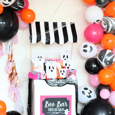 BOO on the Block Halloween Party Ideas