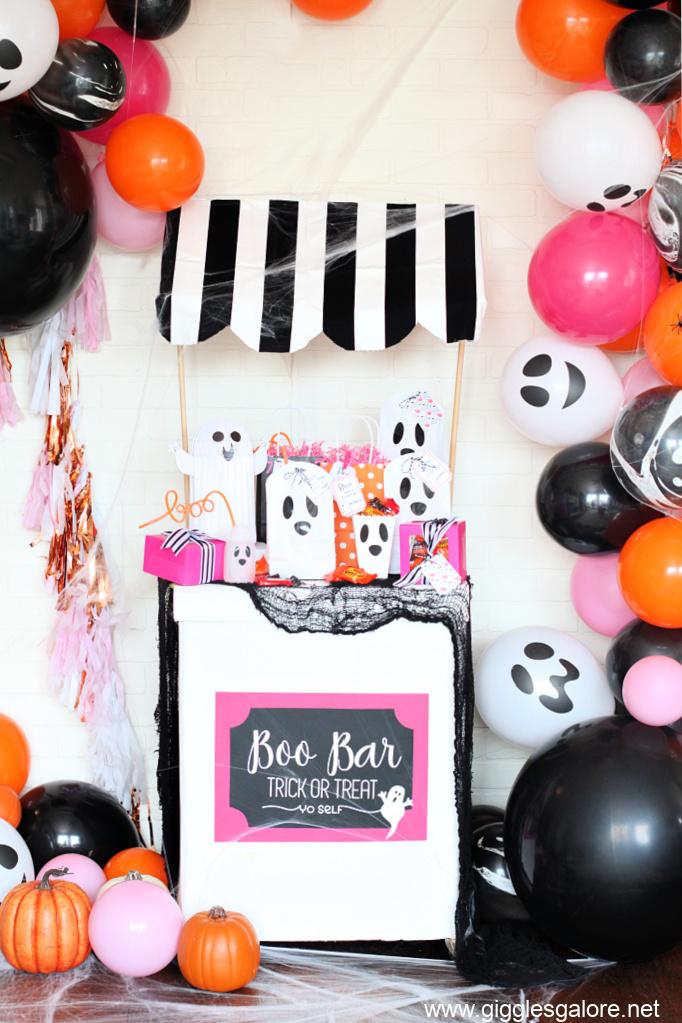 Boo on the block party ideas