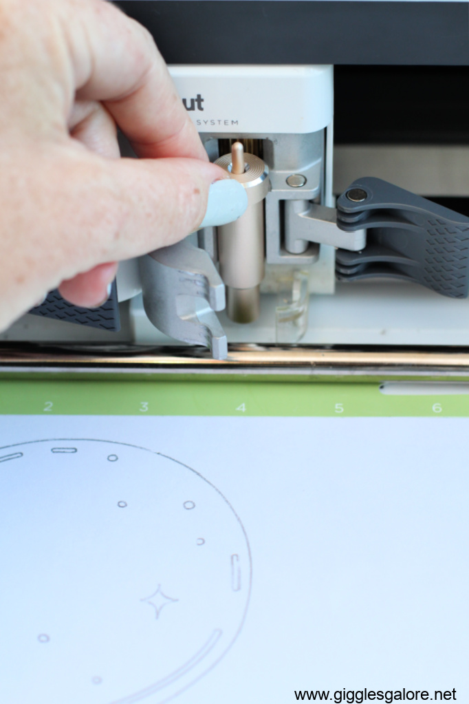Cricut fine point cutting blade