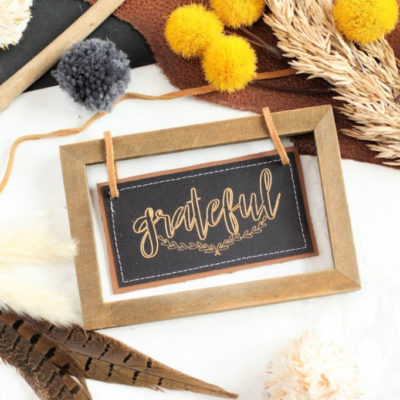 How to Use Cricut Foil Transfer System