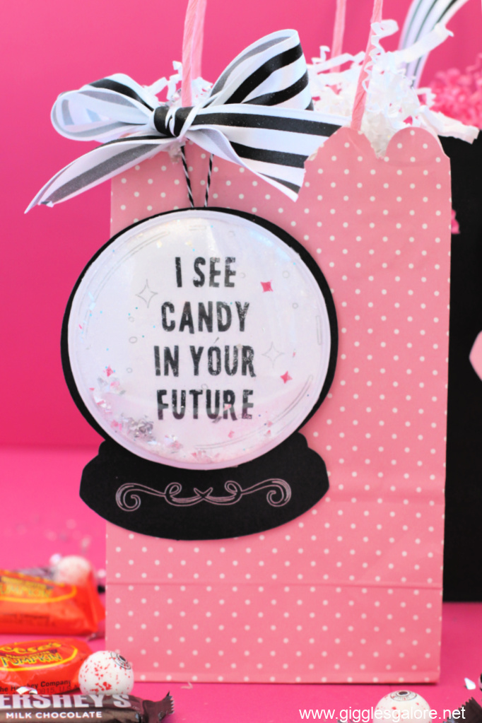 I see candy in your future shaker tag