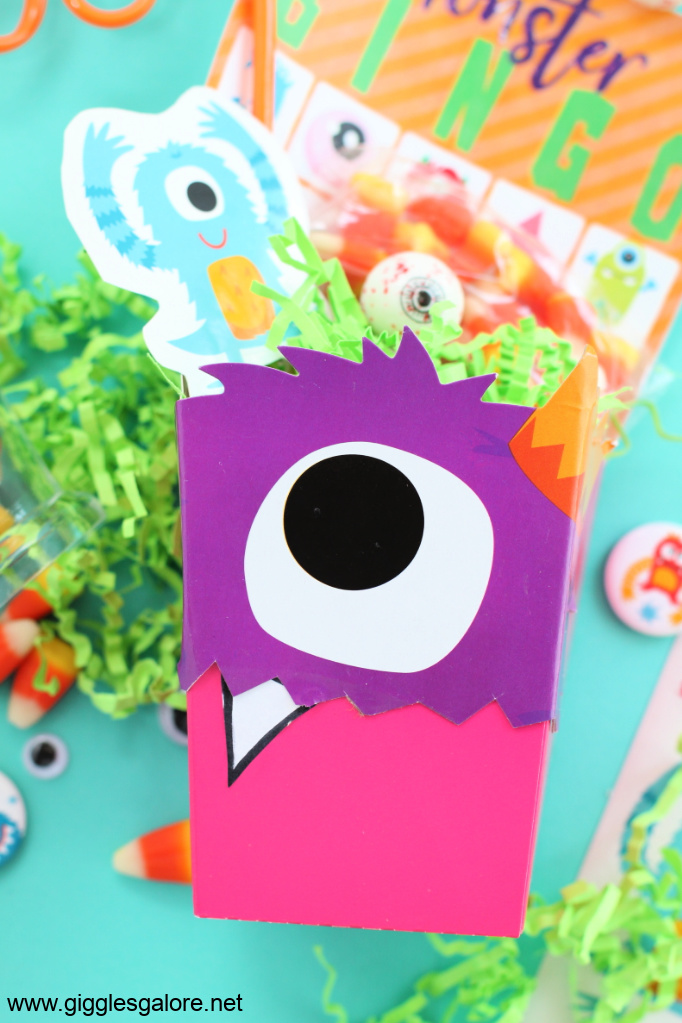 Monster favor box