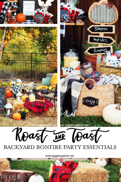 Roast and toast backyard bonfire party essentials