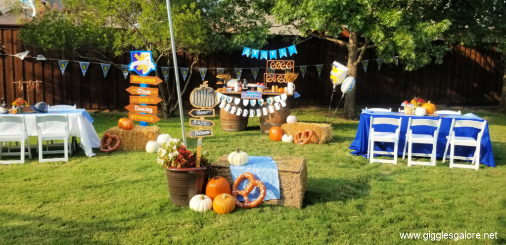 Backyard oktoberfest party ideas