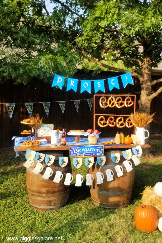 Host a Backyard Oktoberfest Party