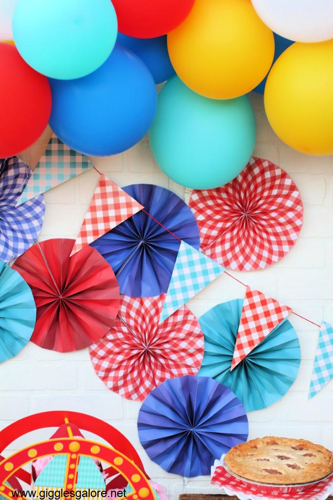 County fair balloons