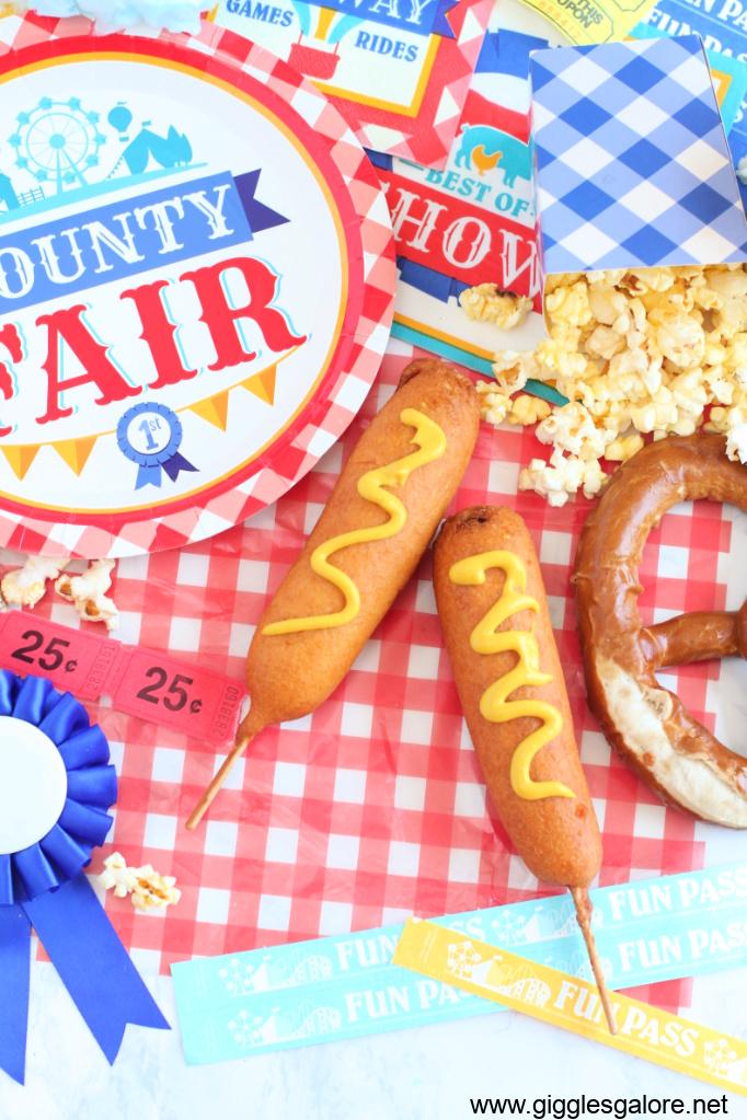 County fair corn dogs