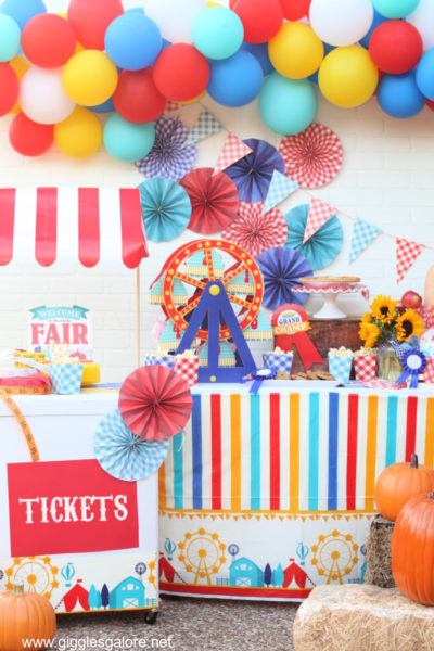 County fair party ideas