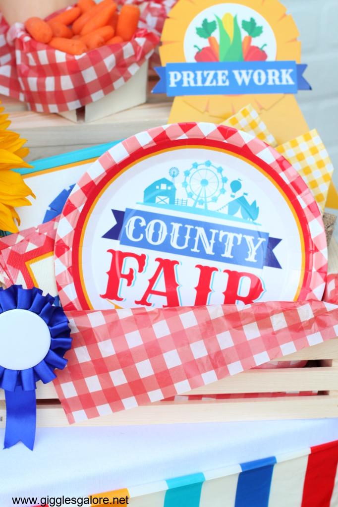 County fair plates