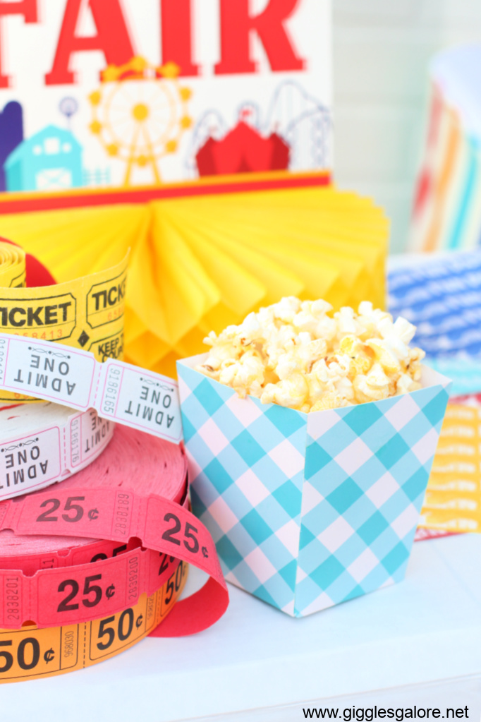 County fair popcorn
