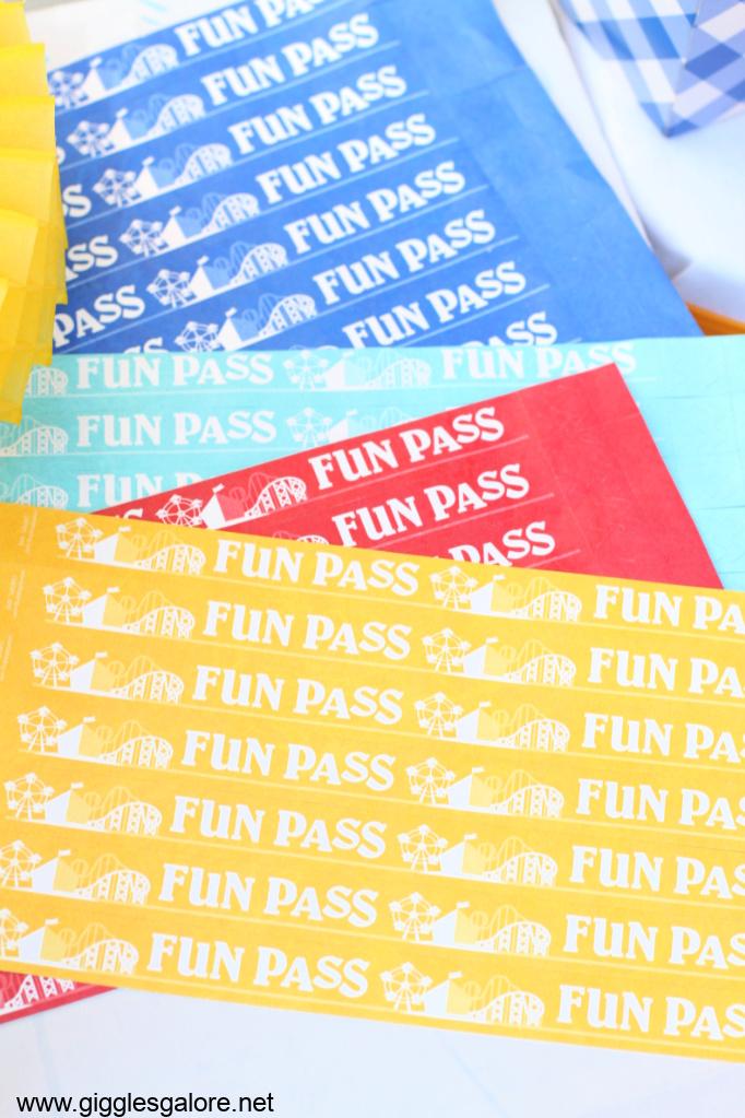 Fun pass county fair admisson band