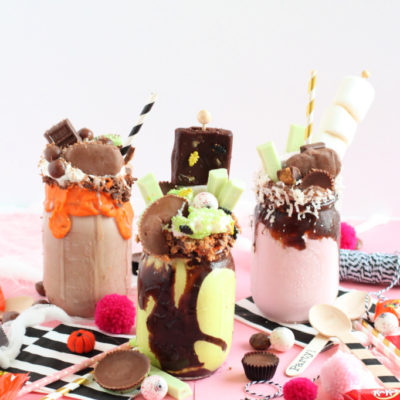 Halloween Monster Freak Shakes