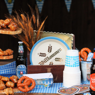 How to Host Backyard Oktoberfest Party
