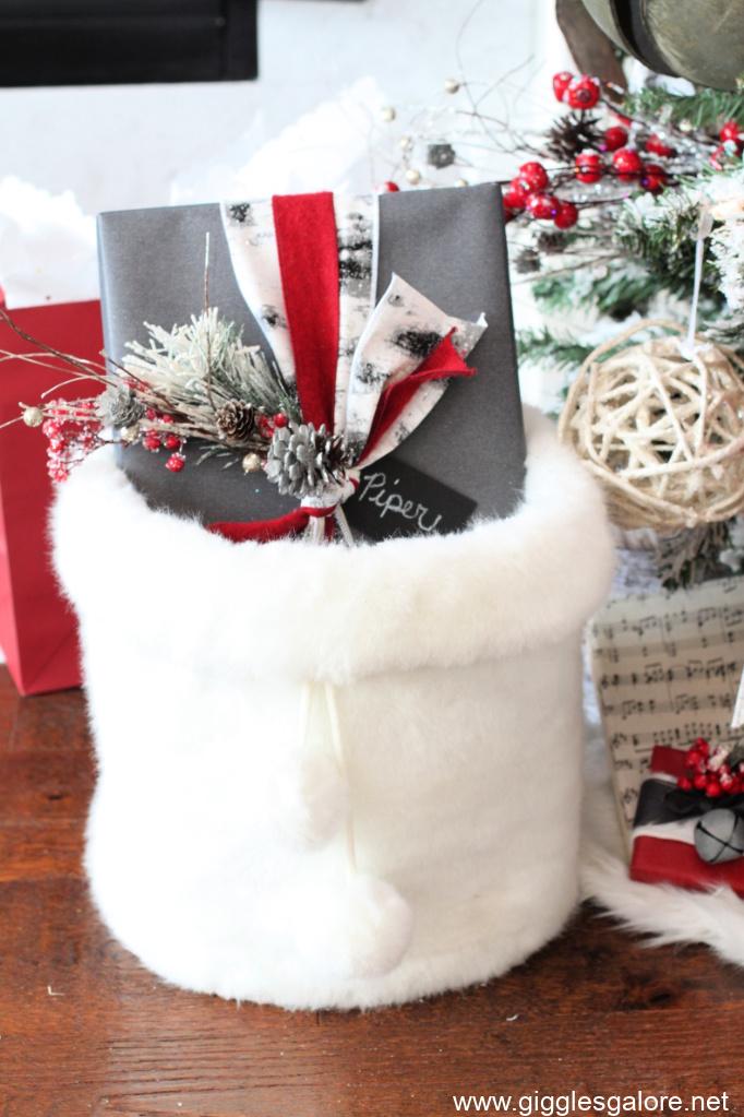 Woodland christmas presents