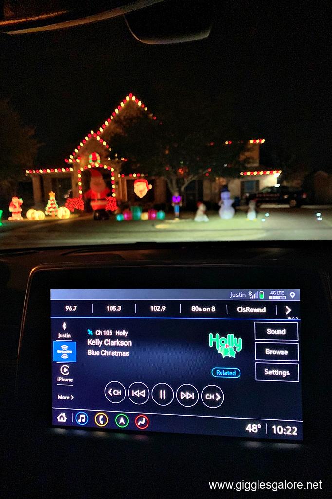 Christmas radio station