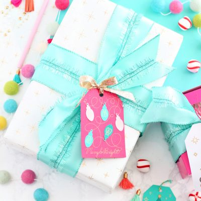 DIY Foil Wrapping Paper with Cricut Maker
