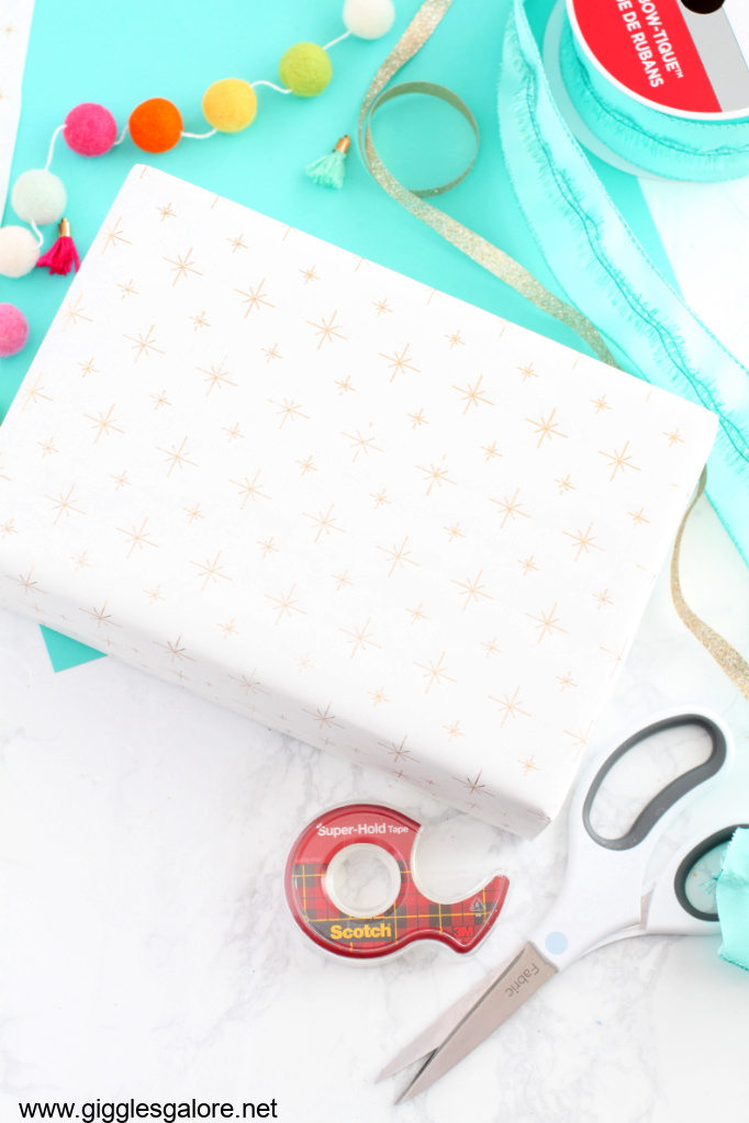 Diy cricut foil wrapping paper