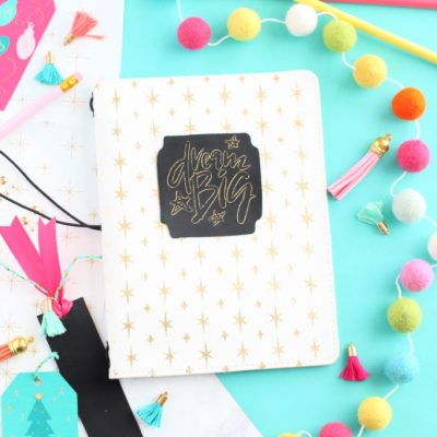 Holiday Gift Idea: DIY Journal with Cricut Maker