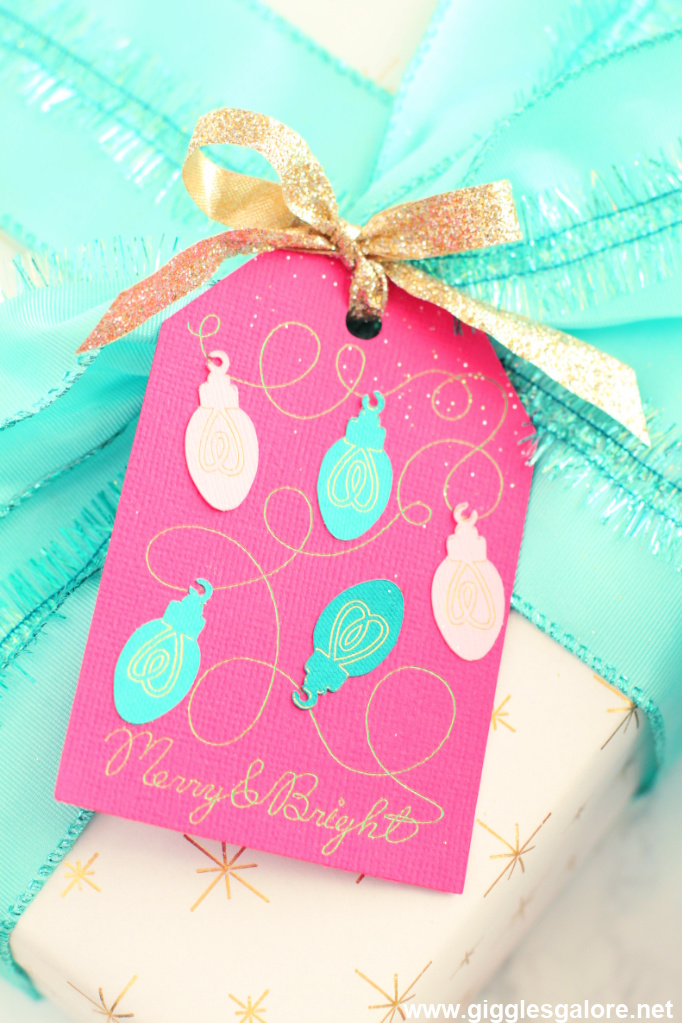 Merry and bright tag