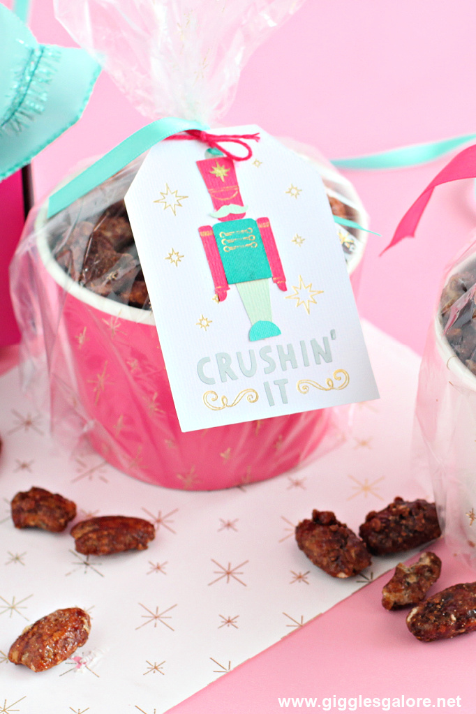 Nut gift idea and tag