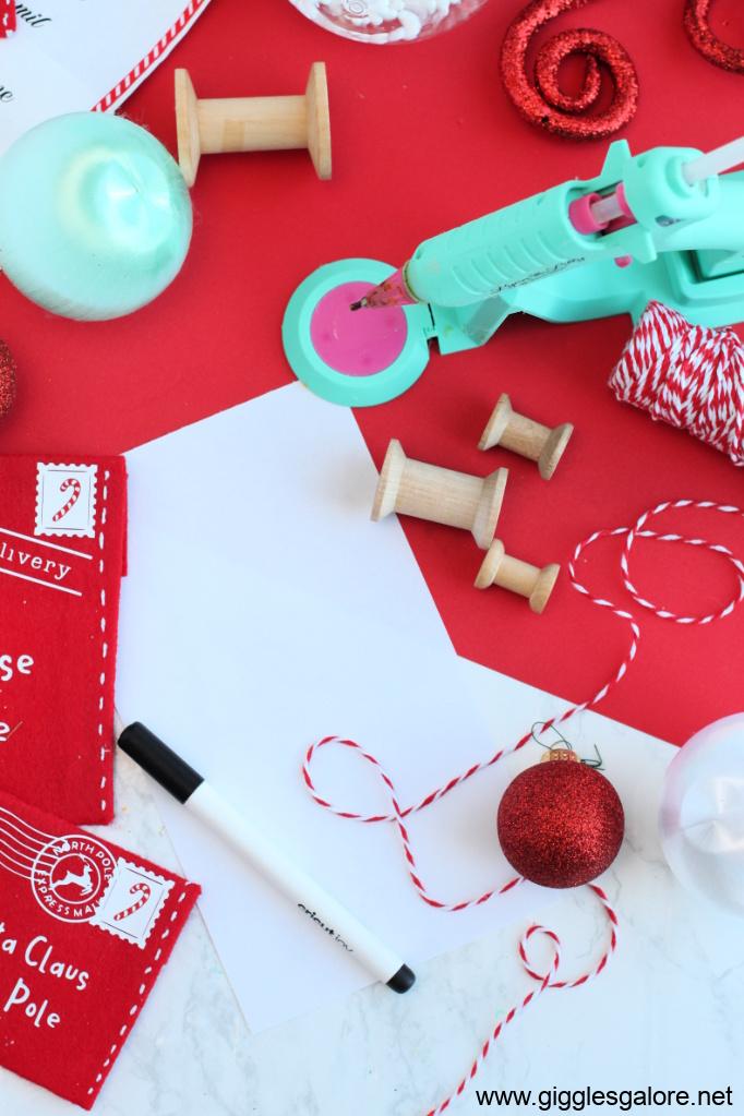 Scroll ornament supplies