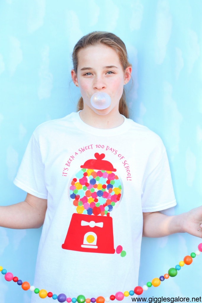 100 sweet days of school shirt