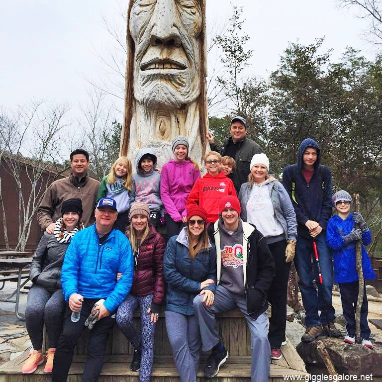 Broken bow family and friends vacation
